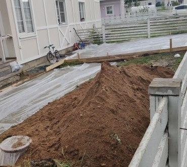 Дренаж на участке в д.Соколово (Солнечногорский район) 16