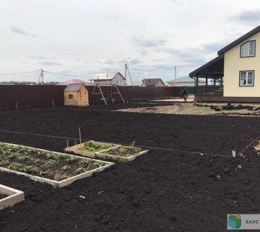 Дренаж на участке в Пушкинском районе (Московская область) 107