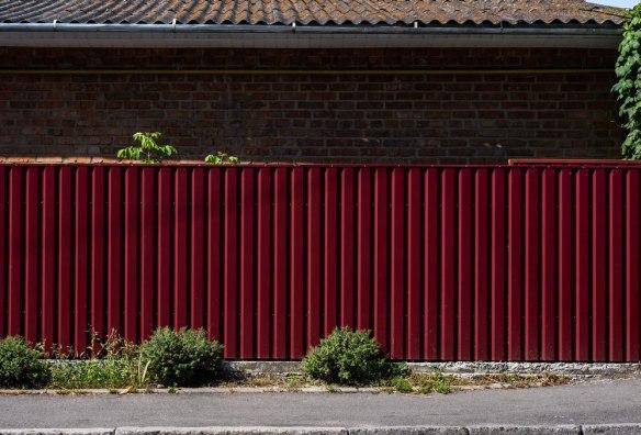 Забор из двухстороннего профнастила Премиум 2