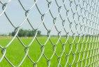 Забор из сетки-рабицы «Эконом»