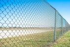 Забор из сетки-рабицы «Стандарт»